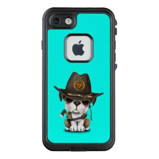 Funda FRÄ' De LifeProof Para iPhone 7 Cazador lindo del zombi del perrito del dogo