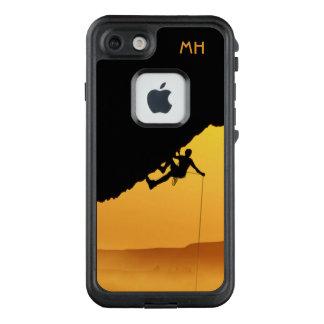 """Funda FRÄ' De LifeProof Para iPhone 7 """"DESAFÍA"""" los casos impermeables del monograma de"""