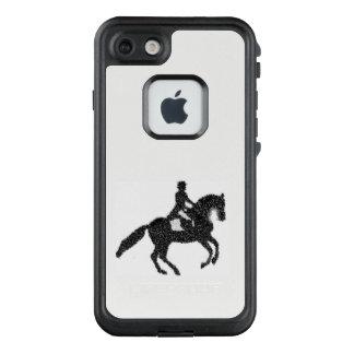 Funda FRÄ' De LifeProof Para iPhone 7 Diseño del caballo y del jinete del Dressage
