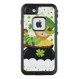 Funda FRÄ' De LifeProof Para iPhone 7 El Leprechaun del arroz del St