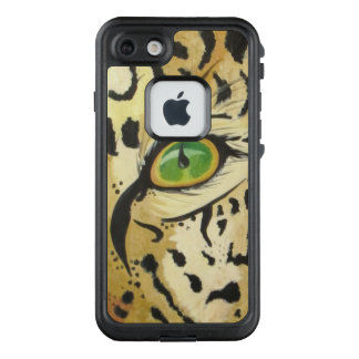 Funda FRÄ' De LifeProof Para iPhone 7 El ojo del leopardo (arte de Kimberly Turnbull)