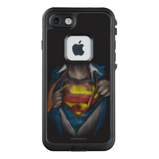 Funda FRÄ' De LifeProof Para iPhone 7 El pecho del superhombre el | revela el bosquejo