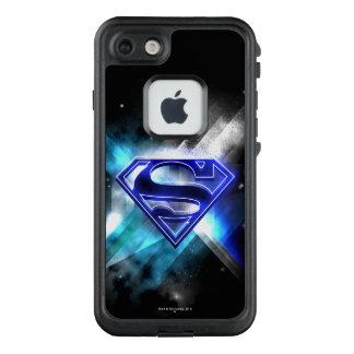 Funda FRÄ' De LifeProof Para iPhone 7 El superhombre Stylized el logotipo cristalino