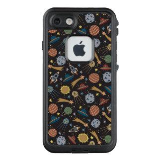 Funda FRÄ' De LifeProof Para iPhone 7 El universo, estrellas, planetas, estilo divertido