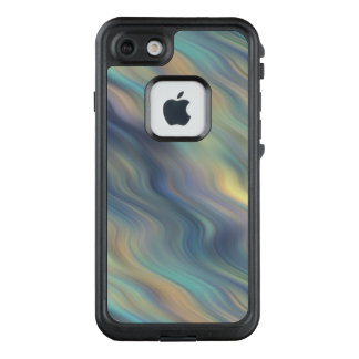 Funda FRÄ' De LifeProof Para iPhone 7 Extracto en colores pastel de las corrientes que