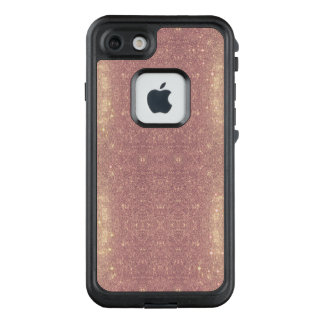 Funda FRÄ' De LifeProof Para iPhone 7 Falsa chispa del espacio de la galaxia color de