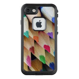 Funda FRÄ' De LifeProof Para iPhone 7 Lápices coloreados artistas