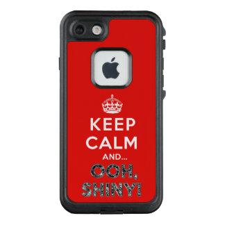 Funda FRÄ' De LifeProof Para iPhone 7 Mantenga Ooh tranquilo brillante