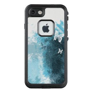 Funda FRÄ' De LifeProof Para iPhone 7 Mariposas blancas