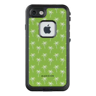 Funda FRÄ' De LifeProof Para iPhone 7 Modelo verde de las palmeras