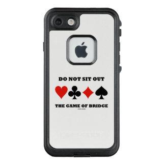 Funda FRÄ' De LifeProof Para iPhone 7 No siente hacia fuera a The Game de los juegos de
