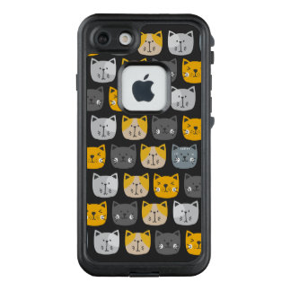 Funda FRÄ' De LifeProof Para iPhone 7 Para el amor de gatos