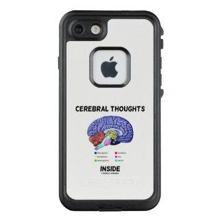 Funda FRÄ' De LifeProof Para iPhone 7 Pensamientos cerebrales dentro del humor pensativo