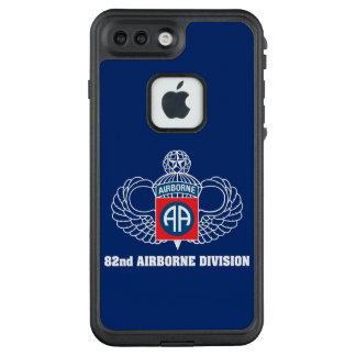Funda FRÄ' De LifeProof Para iPhone 7 Plus 82.o Caja azul de la división aerotransportada