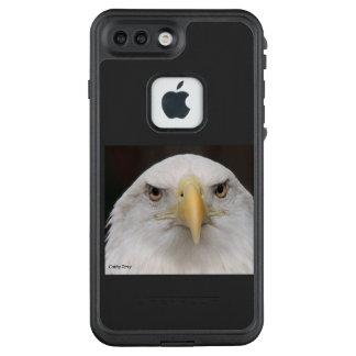 Funda FRÄ' De LifeProof Para iPhone 7 Plus Apple llama por teléfono al águila calva del caso