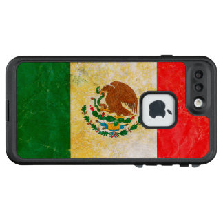 Funda FRÄ' De LifeProof Para iPhone 7 Plus Bandera de México en Grunge