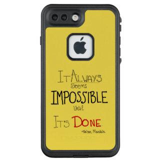 Funda FRÄ' De LifeProof Para iPhone 7 Plus Caja del teléfono de Nelson Mendela