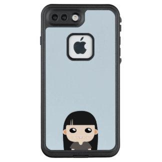 Funda FRÄ' De LifeProof Para iPhone 7 Plus Chica largo del pelo de la cuchilla con vector