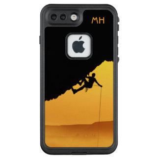 """Funda FRÄ' De LifeProof Para iPhone 7 Plus """"DESAFÍA"""" los casos impermeables del monograma de"""