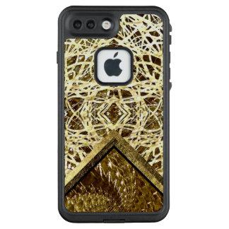 Funda FRÄ' De LifeProof Para iPhone 7 Plus Diseño de cristal Crackled del remolino - Topaz