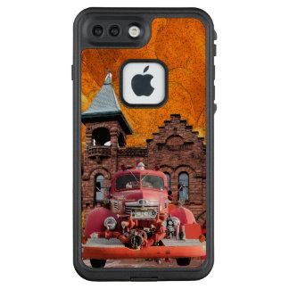Funda FRÄ' De LifeProof Para iPhone 7 Plus Diseño del coche de bomberos del International