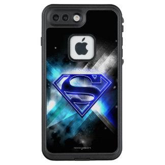 Funda FRÄ' De LifeProof Para iPhone 7 Plus El superhombre Stylized el logotipo cristalino
