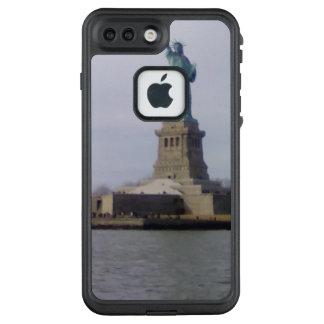 Funda FRÄ' De LifeProof Para iPhone 7 Plus Estatua de NYC de la caja del teléfono del