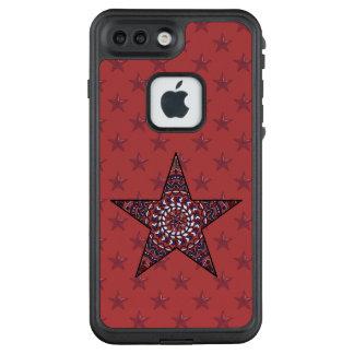 Funda FRÄ' De LifeProof Para iPhone 7 Plus Estrella del caso de Lifeproof de la independencia