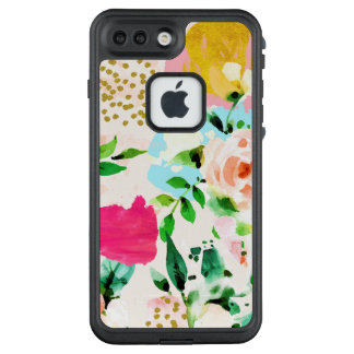 Funda FRÄ' De LifeProof Para iPhone 7 Plus Floral ruborícese