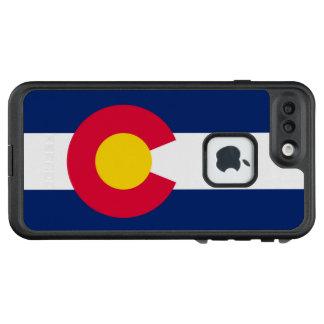 Funda FRÄ' De LifeProof Para iPhone 7 Plus Gráfico dinámico de la bandera del estado de
