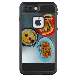Funda FRÄ' De LifeProof Para iPhone 7 Plus Huevos tailandeses de la cacerola del desayuno
