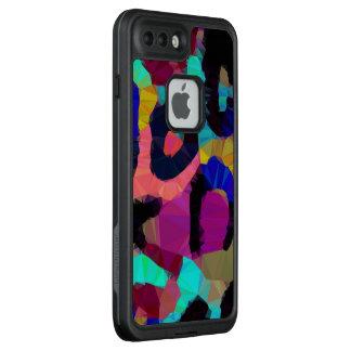 Funda FRÄ' De LifeProof Para iPhone 7 Plus Impresión del guepardo del arco iris