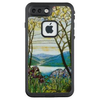 Funda FRÄ' De LifeProof Para iPhone 7 Plus Inspiración escénica de la magnolia y del iris