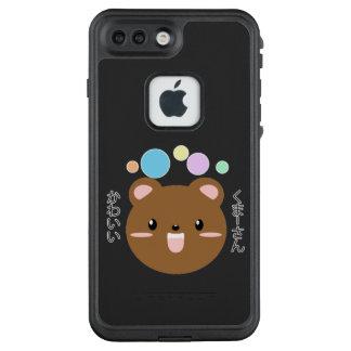 Funda FRÄ' De LifeProof Para iPhone 7 Plus Kawaii/caja linda del teléfono Kuma-san