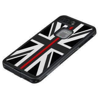 Funda FRÄ' De LifeProof Para iPhone 7 Plus Línea roja fina bandera de Reino Unido