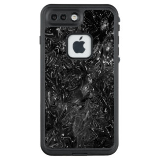 Funda FRÄ' De LifeProof Para iPhone 7 Plus Los lobos ocultados en la galaxia del diamante