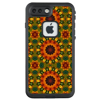 Funda FRÄ' De LifeProof Para iPhone 7 Plus Mandala de la flor, iris, Lilly