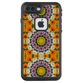 Funda FRÄ' De LifeProof Para iPhone 7 Plus Mandala de la flor, tulipanes