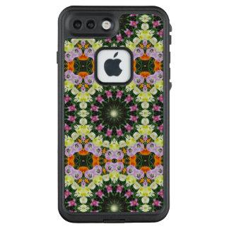 Funda FRÄ' De LifeProof Para iPhone 7 Plus Mandala de la flor, tulipanes