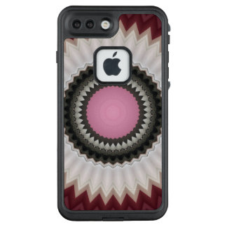 Funda FRÄ' De LifeProof Para iPhone 7 Plus Mandala floral del caleidoscopio en Eslovenia: Ed.