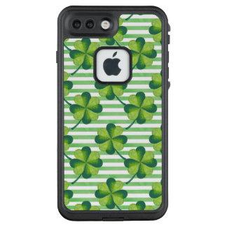 Funda FRÄ' De LifeProof Para iPhone 7 Plus Modelo del día de cuatro de las hojas St Patrick