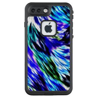 Funda FRÄ' De LifeProof Para iPhone 7 Plus Modelo púrpura blanco abstracto hermoso del verde