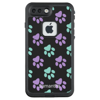 Funda FRÄ' De LifeProof Para iPhone 7 Plus Patas en colores pastel
