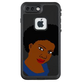 Funda FRÄ' De LifeProof Para iPhone 7 Plus Pelo grande del Afro del pelo natural