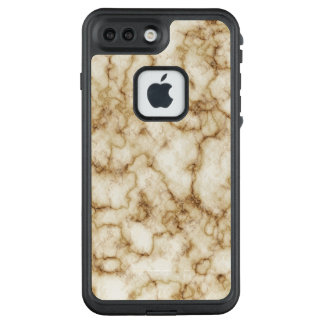 Funda FRÄ' De LifeProof Para iPhone 7 Plus Textura de mármol elegante