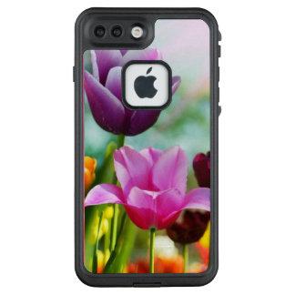 Funda FRÄ' De LifeProof Para iPhone 7 Plus Tulipán cariñoso