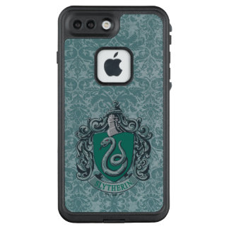 Funda FRÄ' De LifeProof Para iPhone 7 Plus Verde del escudo de Harry Potter el | Slytherin