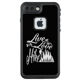 FUNDA FRÄ' DE LifeProof  PARA iPhone 7 PLUS VIVE - AMOR - EL ALZA