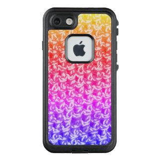 Funda FRÄ' De LifeProof Para iPhone 7 Punto colorido del ganchillo de Ombre