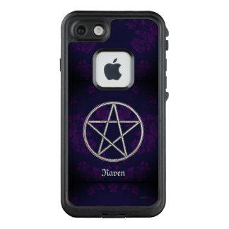 Funda FRÄ' De LifeProof Para iPhone 7 Púrpura eterna gótica del pentáculo
